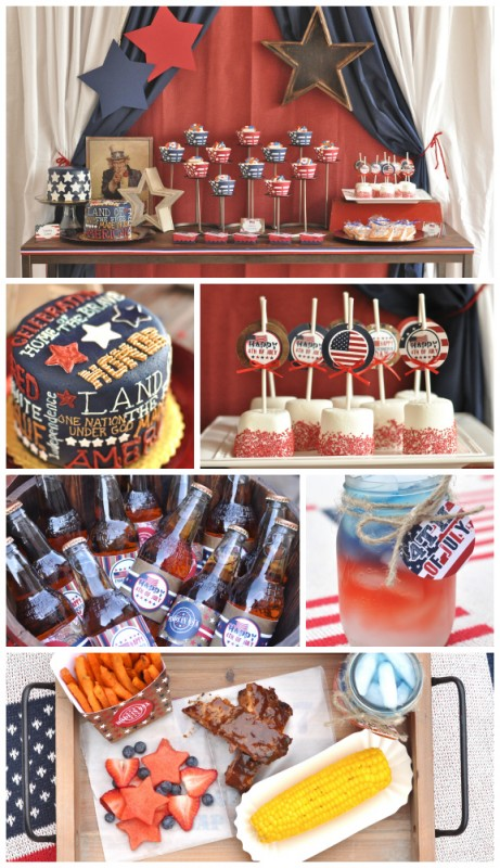 4th of july party by @mindy_cone