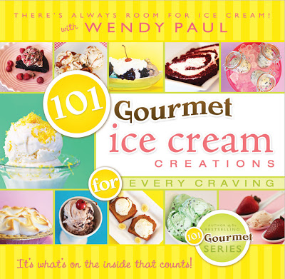 {BOOK REVIEW} 101 gourmet ice cream creations