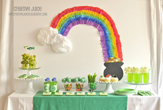 {my parties} st patricks day party