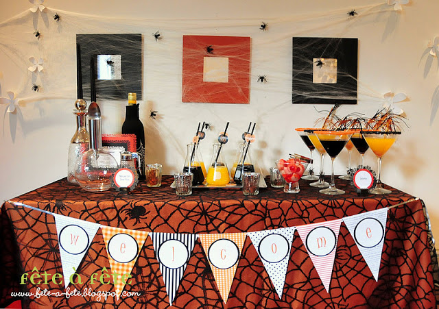 {GUEST POST} halloween party!