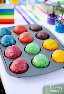 {inspiration} rainbow party ideas