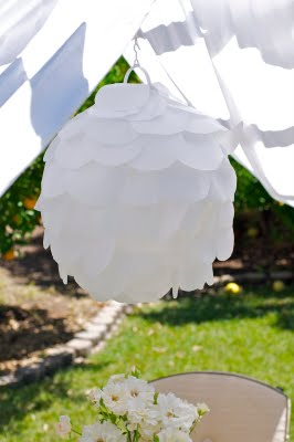 {TUTORIAL} lemon party scalloped lantern