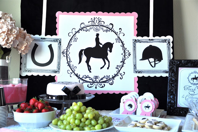 {MY PARTIES} english horseback riding party
