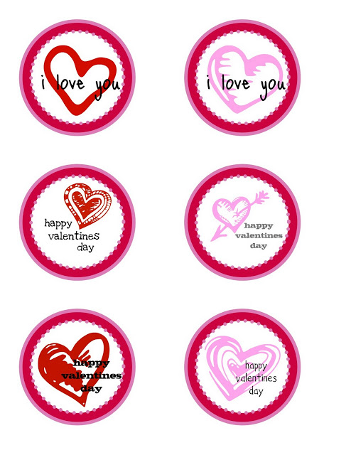 FREE PRINTABLE} valentine\'s day gift tags - Creative Juice