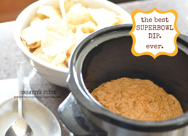SUPERBOWL} the best dip EVER. - Creative Juice