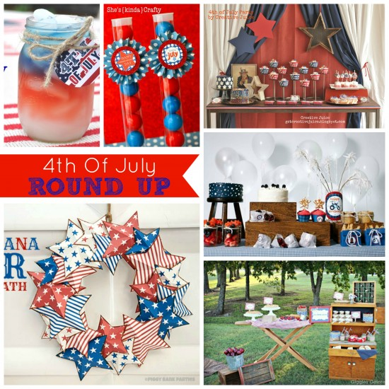{ROUND UP} 4th of july party ideas