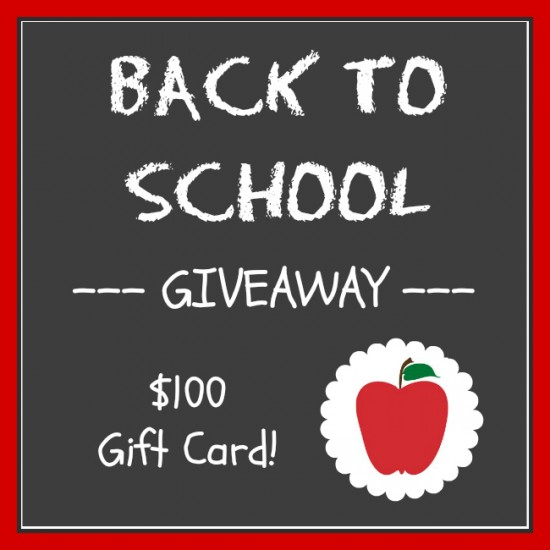 {GIVEAWAY} back to school