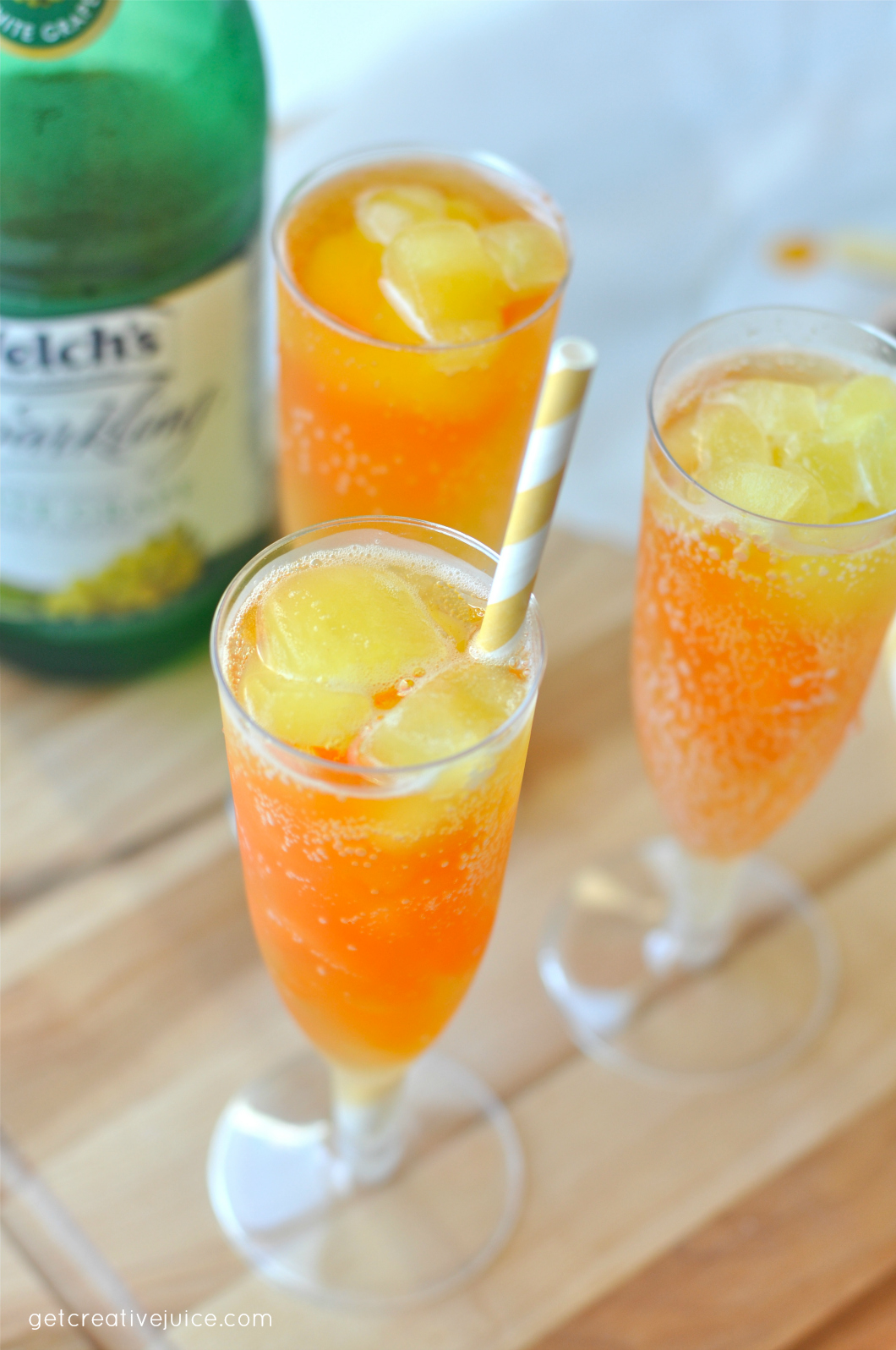 Popsicle Flavored Party Drinks - Recipe and Tutorial