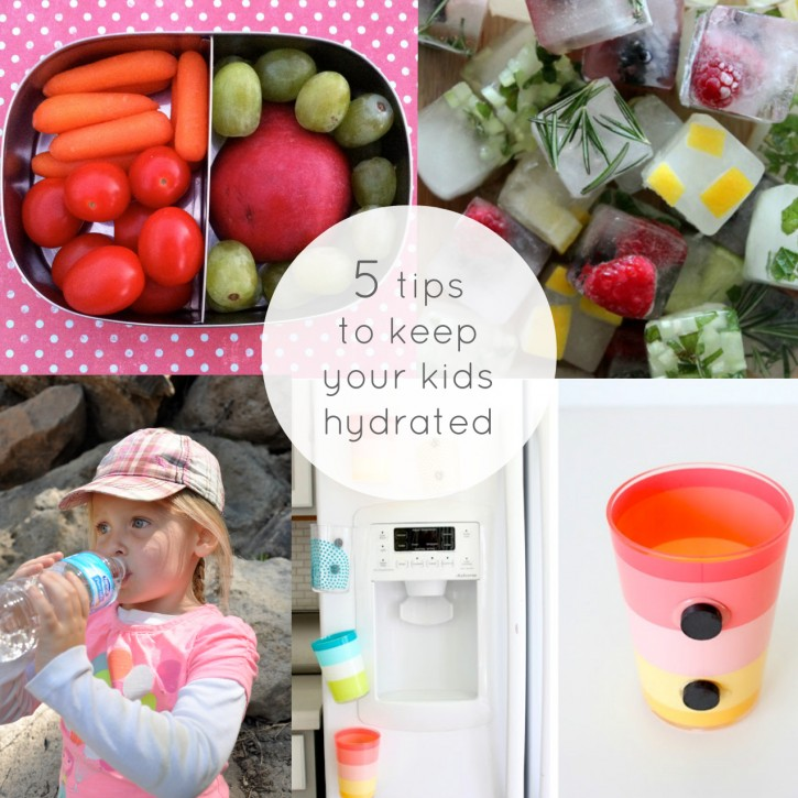 tips to keep your kids hydrated