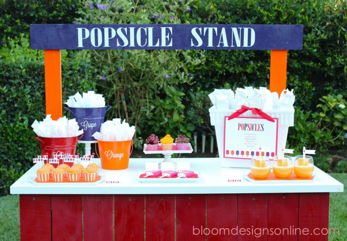 Party Ideas Entertain With Popsicles Creative Juice