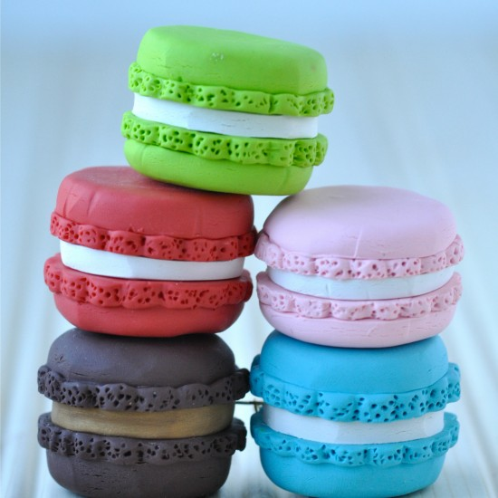 {tutorial} French Macaron Ornaments