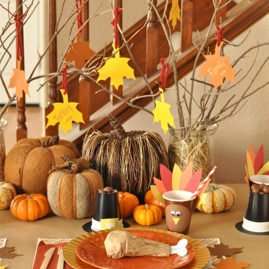 Thanksgiving Day Centerpiece Idea Crafthubs