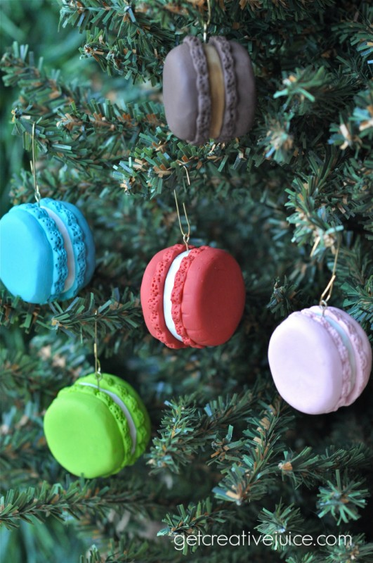 french macaron ornaments 3