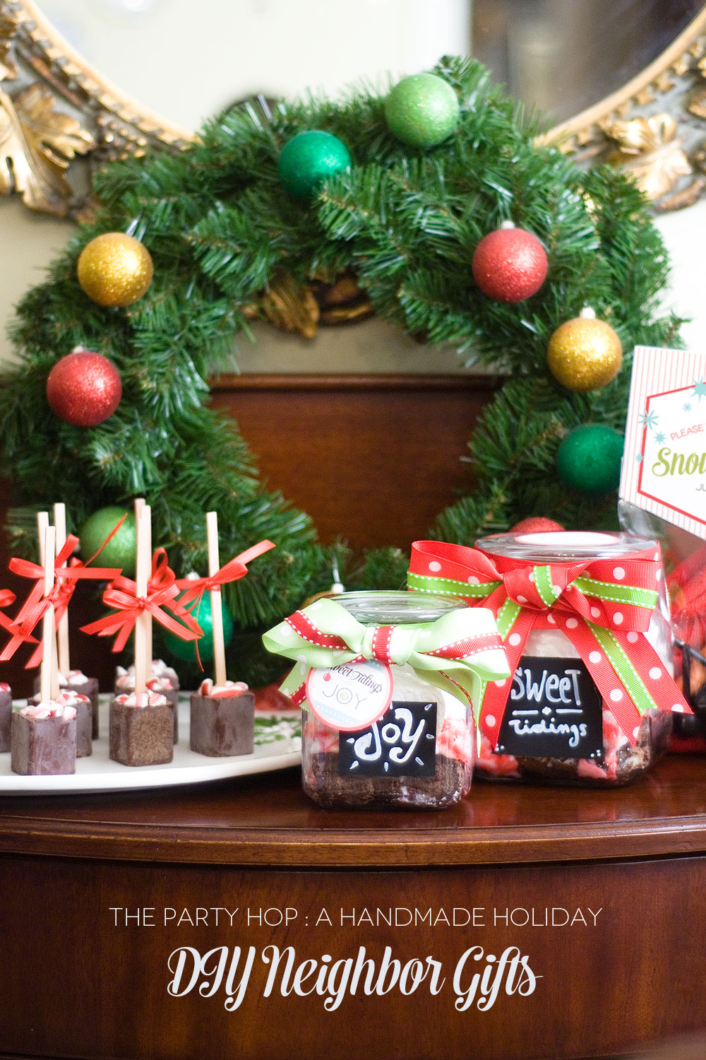 DIY Neighbor Christmas Gifts - Creative Juice