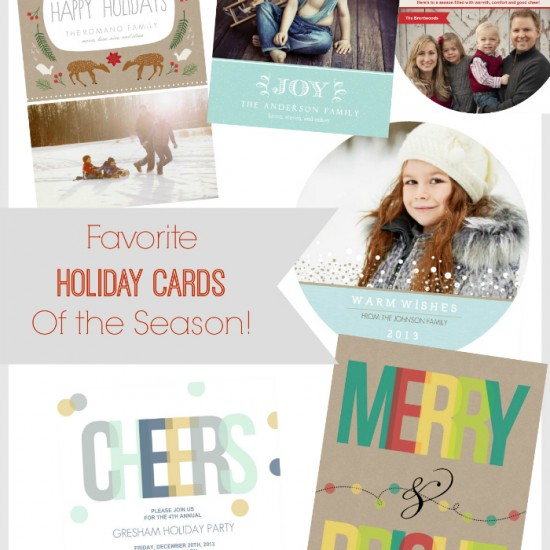{giveaway} favorite holiday cards