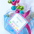 Free Merry & Bright Printable Gift Tag