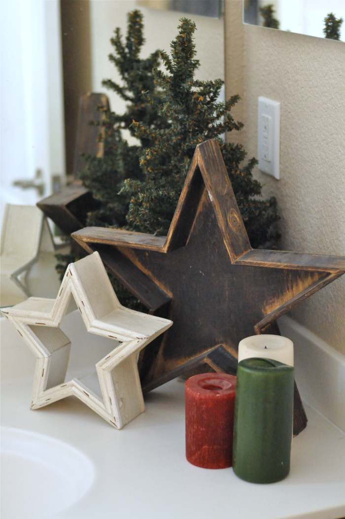 Christmas Bathroom Decor Sets For Primitive