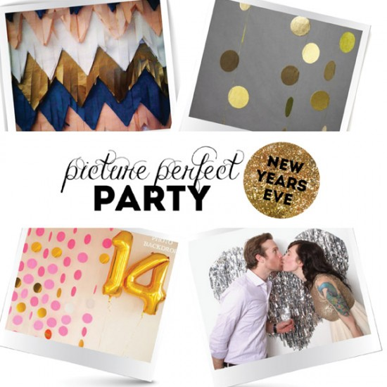 New Years Eve Photo Backdrop Ideas