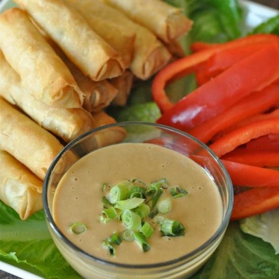 Peanut sauce recipe for dipping