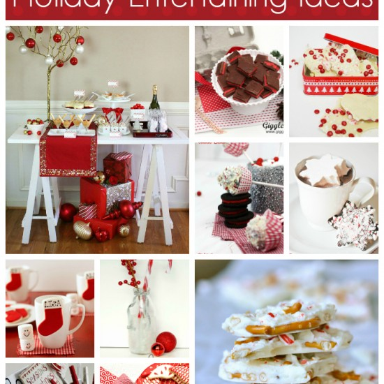 Holiday Entertaining Ideas – Red & White