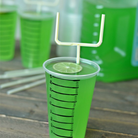 Super Bowl or Football Party Drinks – Goal Post Straws!