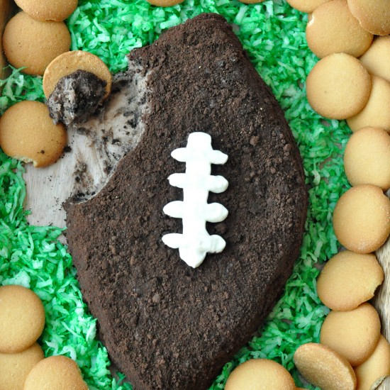 Football Cookies and Cream Dip