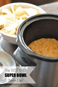 Warm Bean Dip - Perfect Super Bowl Party dip!