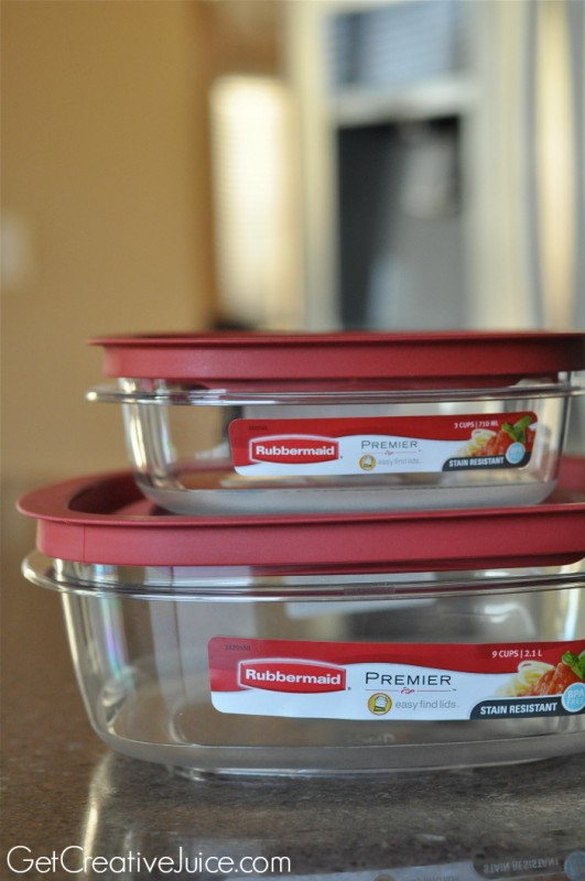 football party layered dip containers