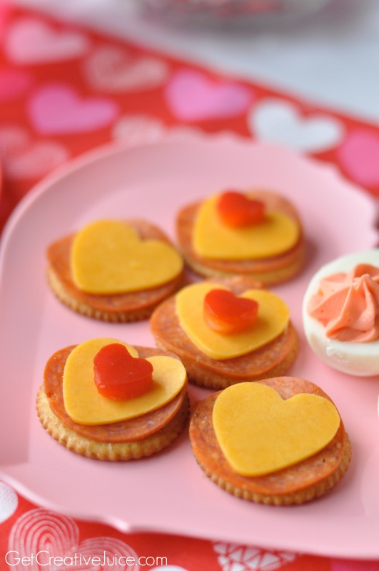 Easy Valentine's Day snack ideas for kids