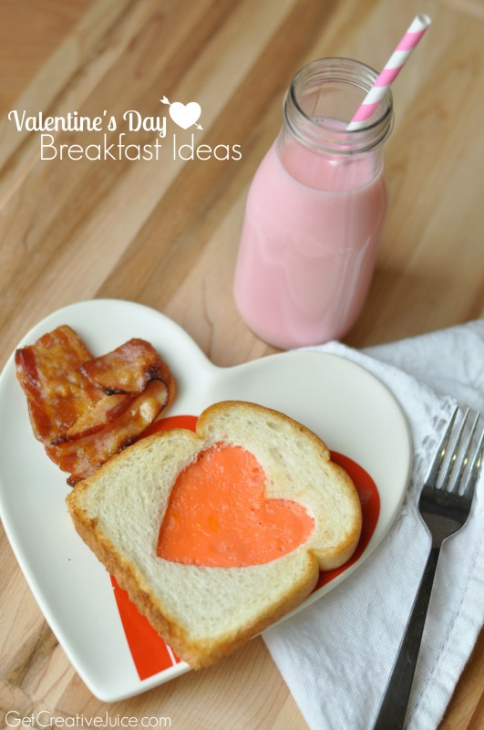 Ideas for Breakfast on Valentine's Day