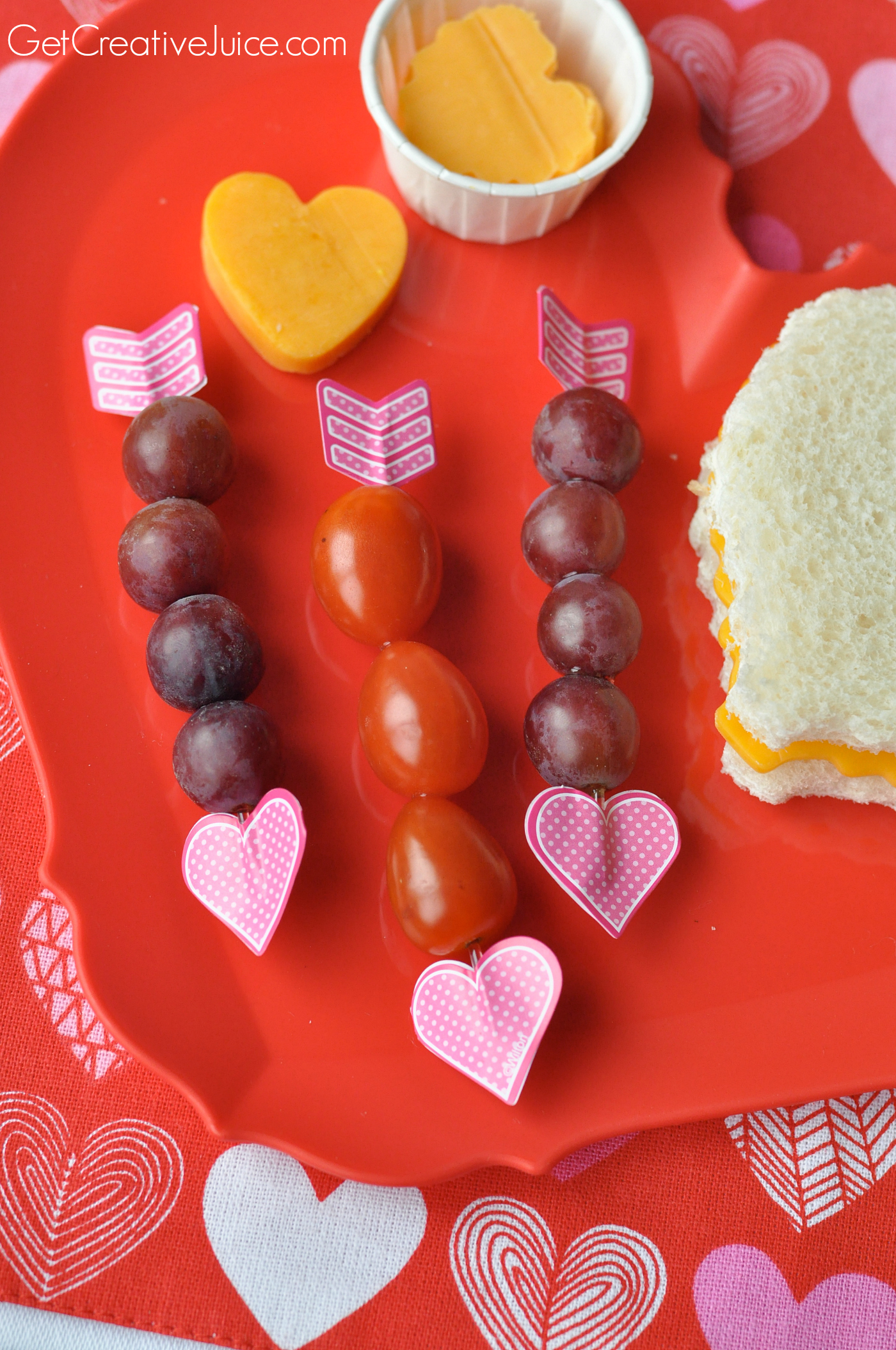 ideas for valentines day lunches and snacks