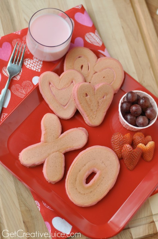 Ideas for breakfast on Valentine's Day!