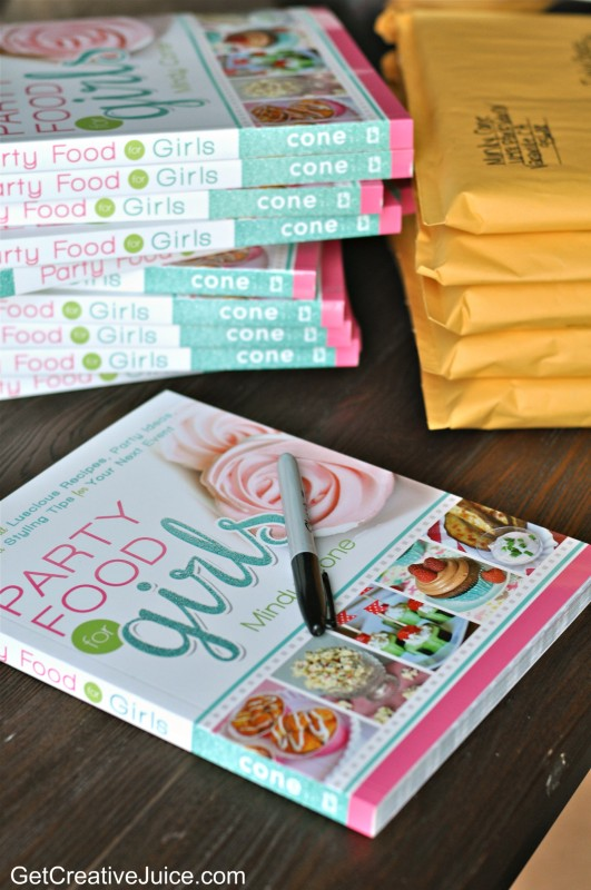 Party Food For Girls Cookbook
