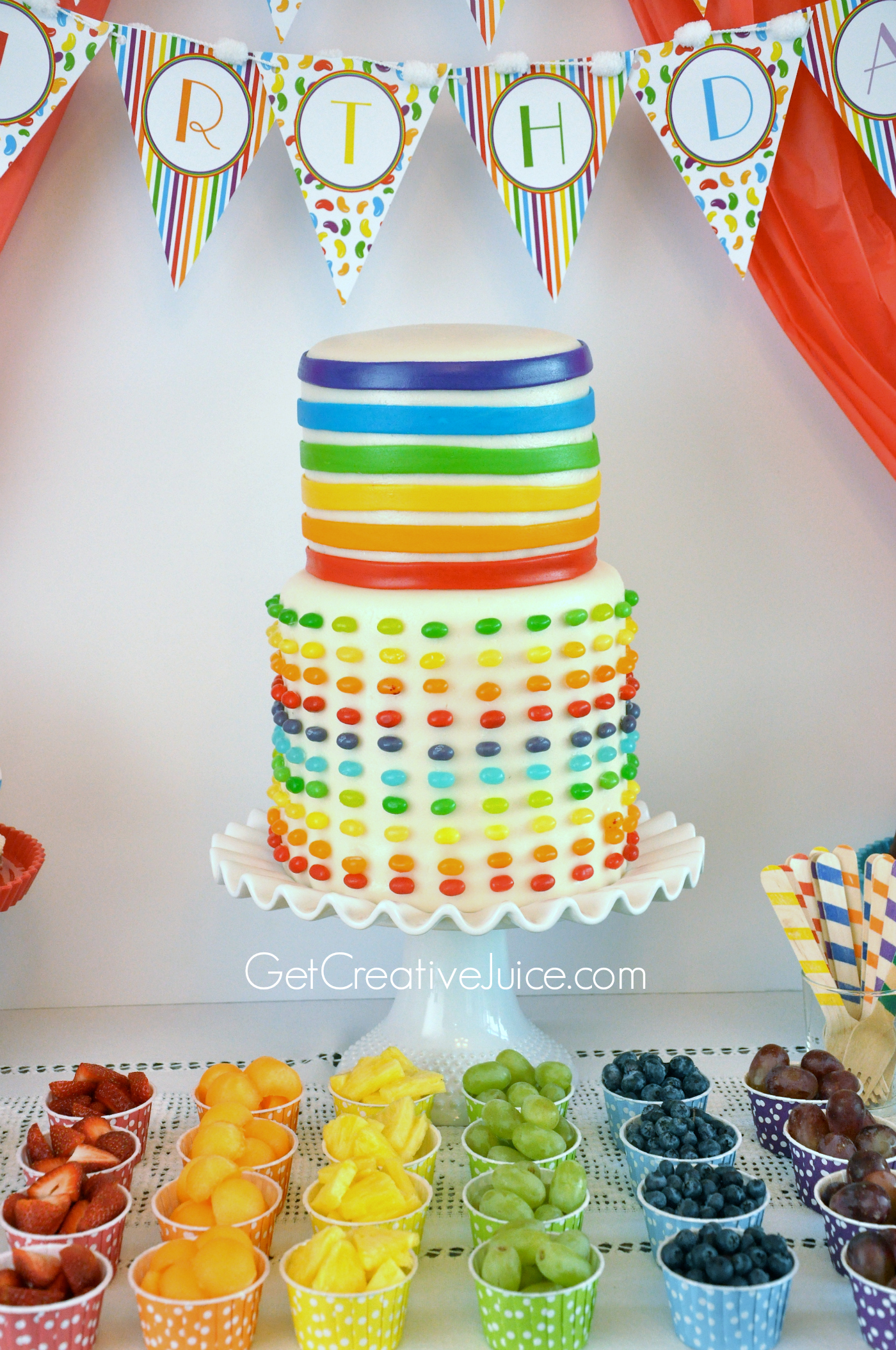 Birthday Cake Images Rainbow : Out-of-the-box Birthday Cakes - Creative Juice