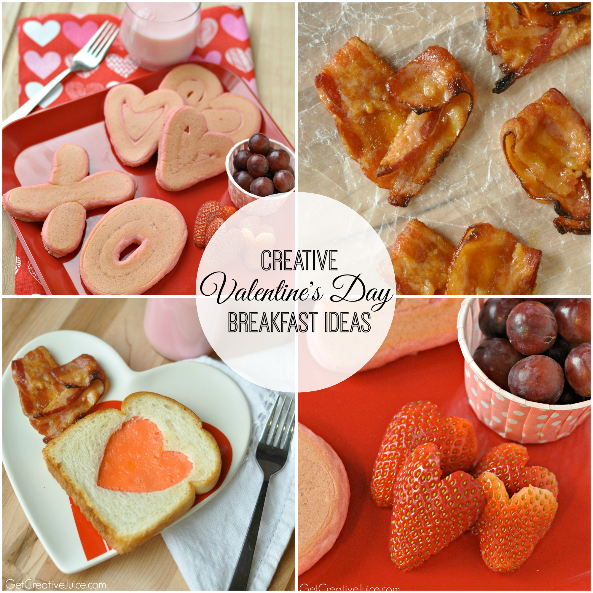 Valentine's Day Breakfast Ideas - Creative Juice