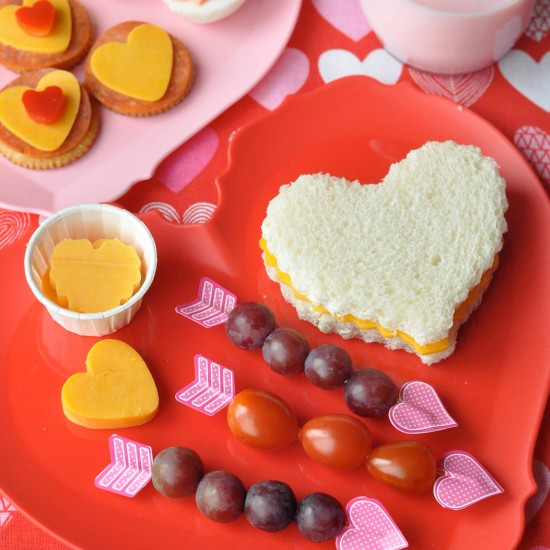Valentine Lunch Ideas and Snack Ideas