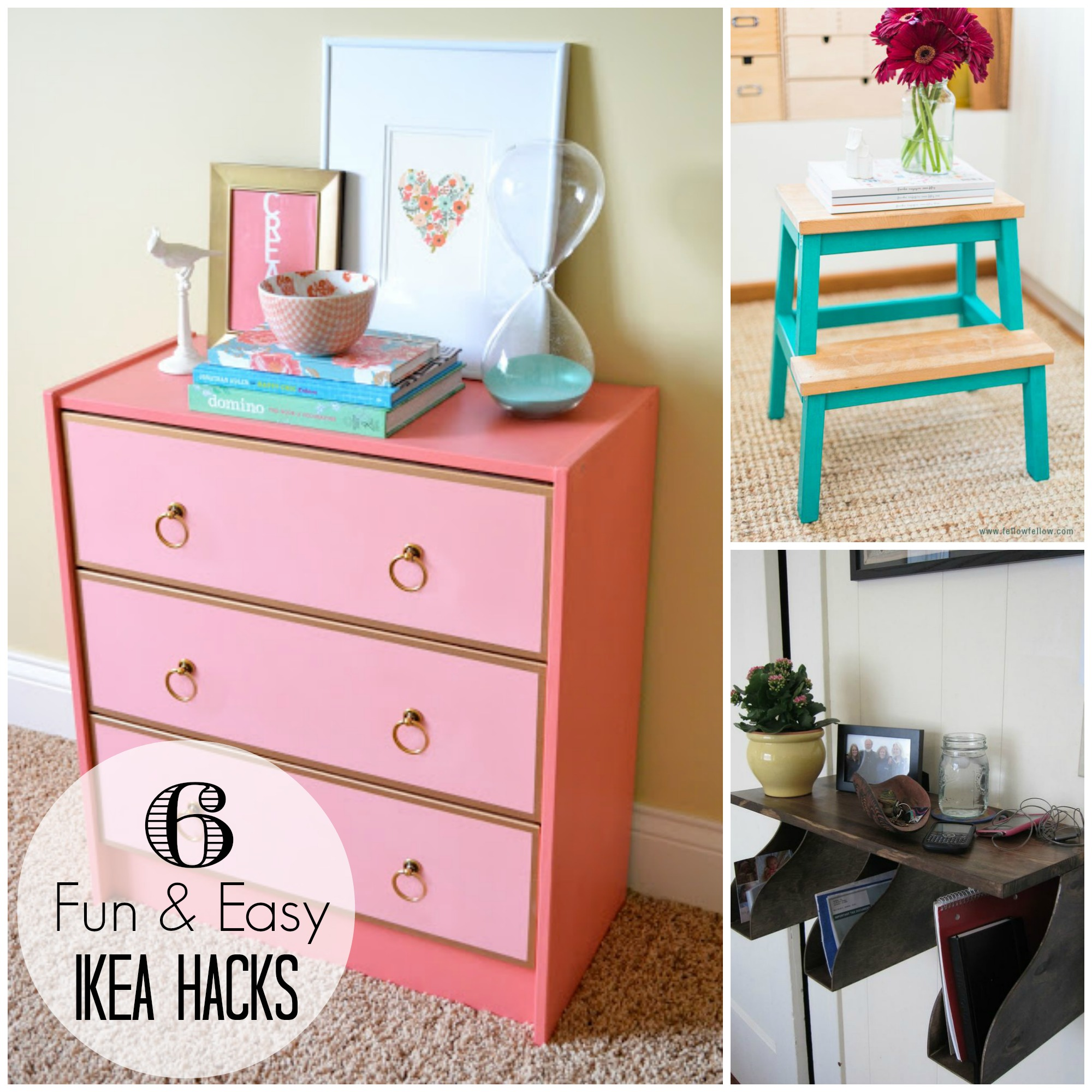 {trending Tuesday} 6 Fun & Easy Ikea Hacks