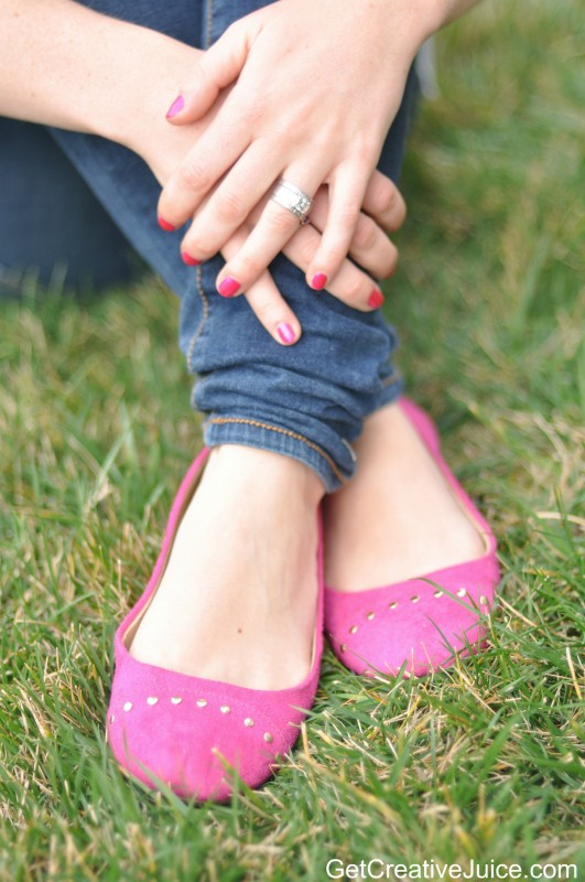Fun Spring Hot Pink Shoes!