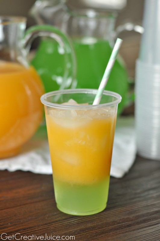 Mango Layered Drinks