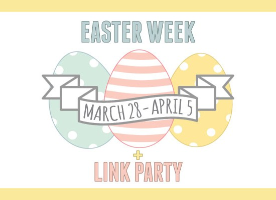 Easter Ideas Link Party with 15 Blogs!