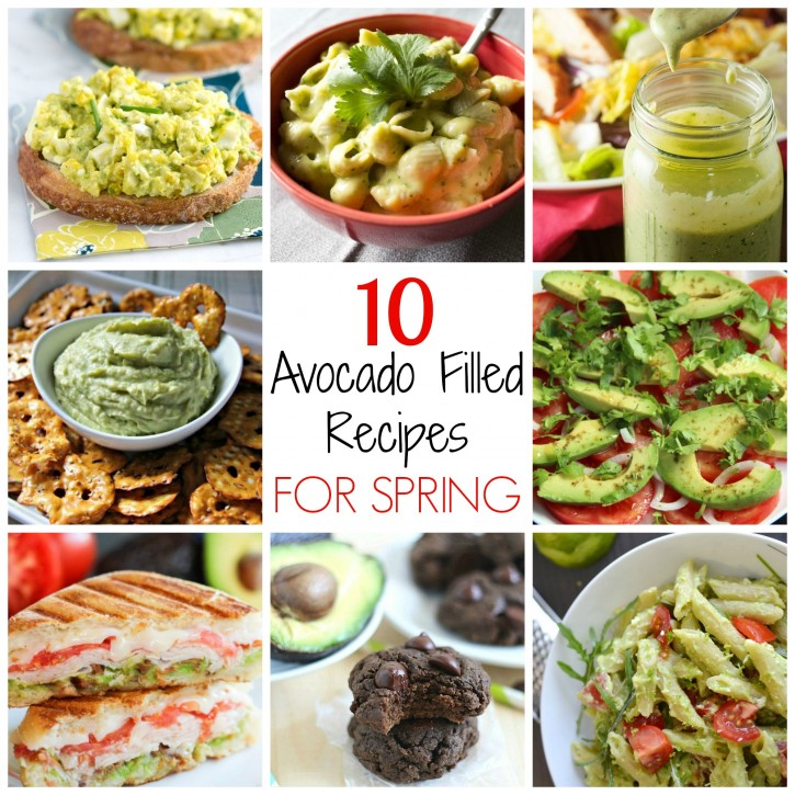 10 Avocado Recipes for Spring