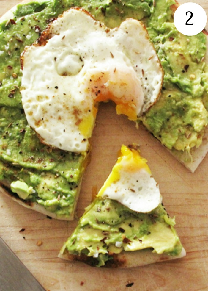 one of my favorite food items – breakfast. This avocado and egg pita ...