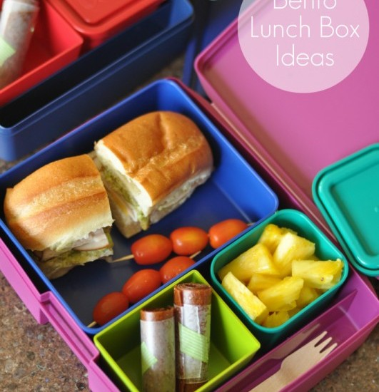 Bento Lunchbox Ideas for Kids