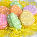 Easter Egg Macarons recipe and tu