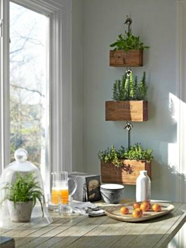 Chalkboard Paint Indoor Herb Planters
