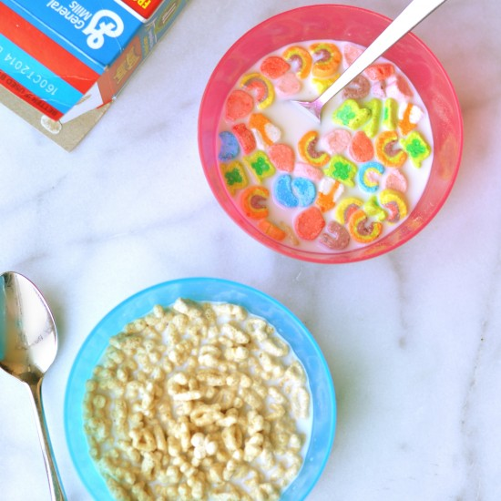 Three Cheers for Lucky Charms