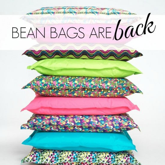 {Trending Tuesday} Bean Bags Are Back!