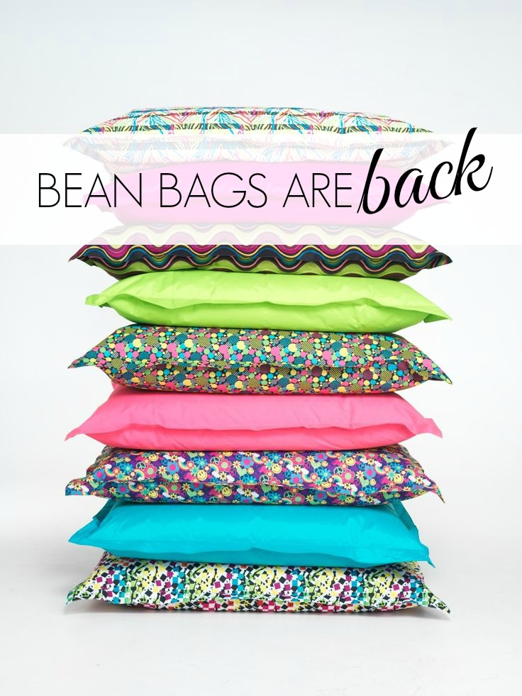 Trending Tuesday: Bean Bags are Back | getcreativejuice.com | @mindy_cone