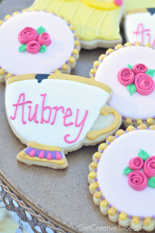 Beauty and the Beast Belle - Chip Sugar Cookies