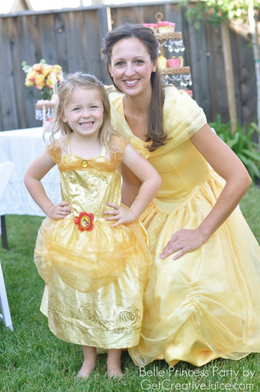 Belle Princess Party Dress Ups